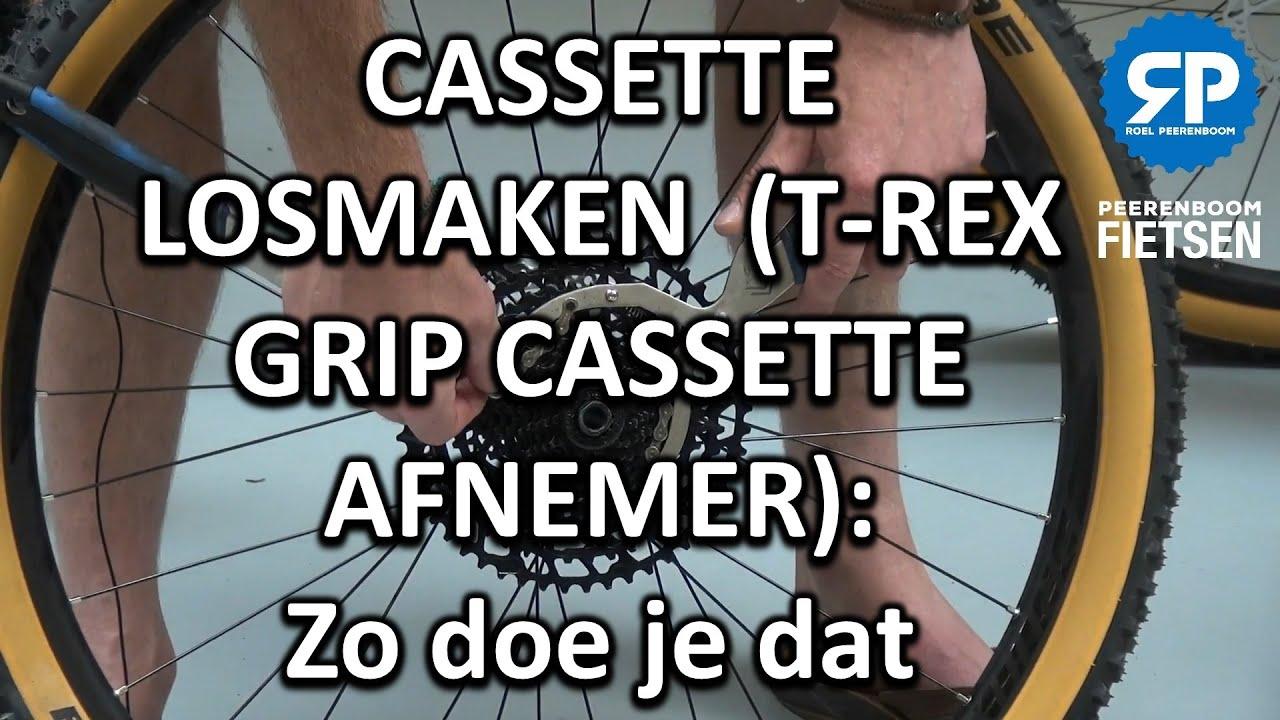 CASSETTE Vervangen (T-REX GRIP CASSETTE AFNEMER): Zo doe je dat