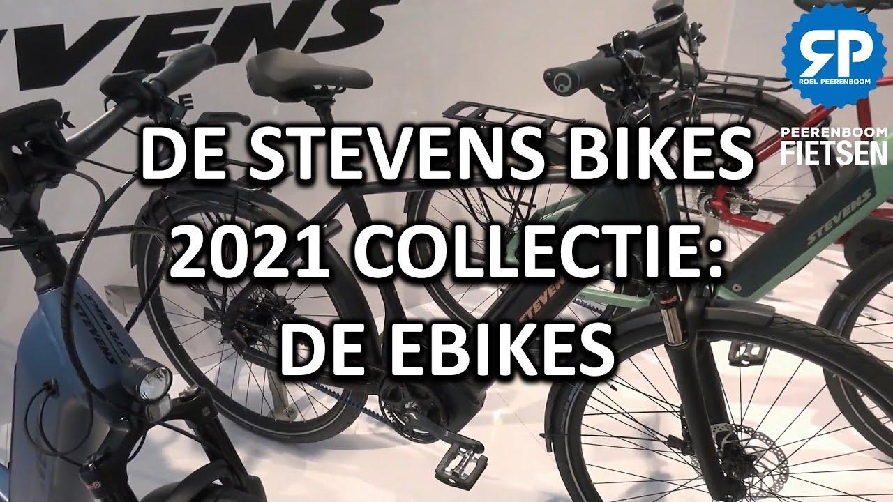 DE STEVENS BIKES 2021 COLLECTIE: DE EBIKES